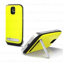 Coque Batterie 3500mAh Jaune Pour Samsung I9500 Galaxy SIV