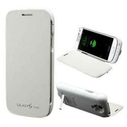 Coque Batterie 3000mAh Blanche Pour Samsung I9190/I9195 Galaxy SIV Mini