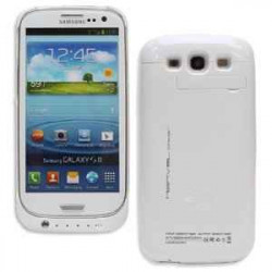 Coque Batterie 2200mAh Noir Pour Iphone 5C