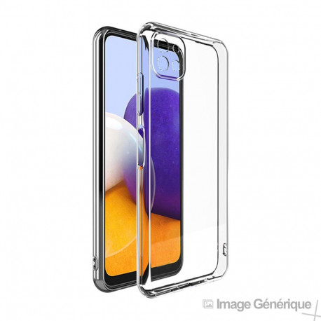 Coque Silicone Pour Samsung Galaxy A22 5G (0.5mm, Transparent) En Vrac