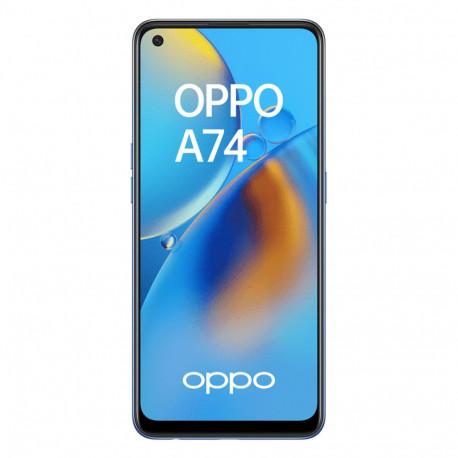 Oppo A74 (Double Sim - Ecran 6.43'' - 128 Go, 6 Go RAM) Bleu