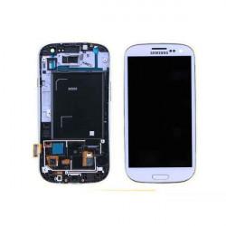 Ecran LCD Original Pour Samsung I9305 Galaxy SIII 4G Blanc