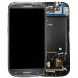Ecran LCD Original Pour Samsung I9305 Galaxy SIII 4G Gris